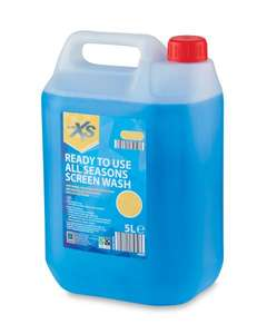 Aldi 5ltr ready to use screenwash - 59p instore @ Aldi (Taunton)