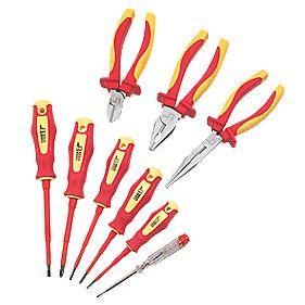 VDE Pliers & Screwdriver Set 9 Pieces - £15.99 @ Screwfix (C&C)