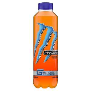 Monster Hydro Glucose Drinks 29p at Poundstretcher
