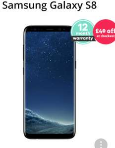 Samsung Galaxy S8 Good Condition £369.99 with £40 discount applied+ 12 month warranty  @ music magpie