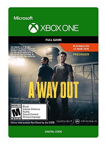 Xbox One - A Way Out (Digital Copy): £14.74 via Amazon US
