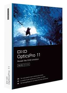 For photographers: FREE DxO OpticsPro 11 Essential Edition
