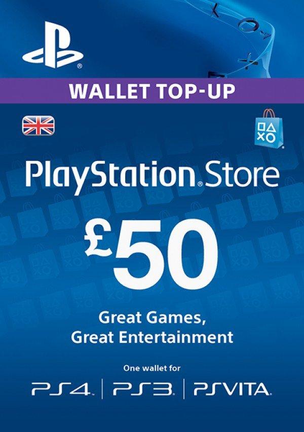 £50 Playstation Network Card – £39.89 – CDKeys