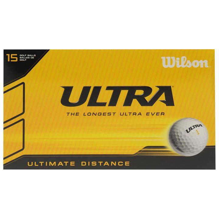 Wilson Ultra 15 Pack Golf Balls £8.75 RRP £14.99 @ Sports Direct (+£4.99 P&P)