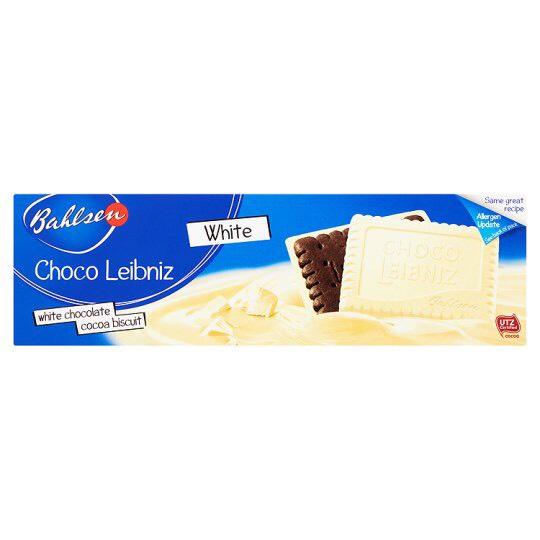 Bahlsen Choco Leibniz White Biscuits 125G instore @ Tesco (Liverpool)