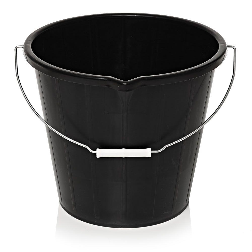 Wilko black 14.5l bucket for a  £1 C+C @ Wilko