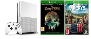 Xbox One S 1TB with Sea of Thieves + Far Cry 5 £239.98 @ Ebuyer
