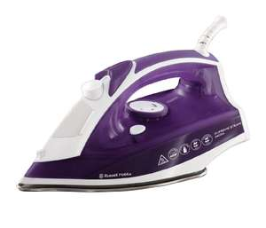 Russell Hobbs Supreme Steam Traditional Iron 23060, 2400 W - Purple/White £14.95 prime / £19.44 non prime @ Amazon