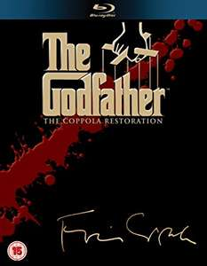 The Godfather Coppola Restoration [Blu-ray] [1972] [Region Free] 4 Discs £14.99 prime / £17.98 non prime @ Amazon