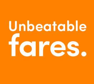 Liverpool to London (or vica versa) Walk Up Fare £33 (Super Off Peak Return) on West Midland Trains (£22 with Railcard)