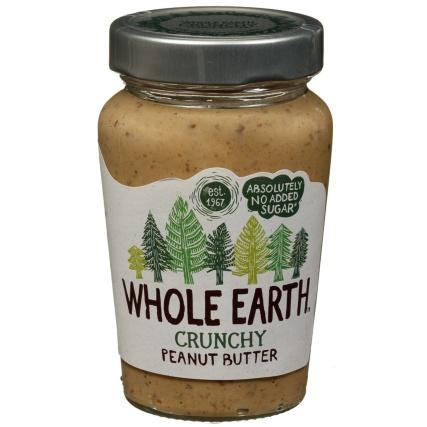 Whole Earth Crunchy Peanut Butter 340g £1.89 @ B&M