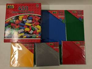 Home Bargains Building Blocks / Base Plates from 89p