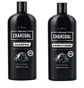 Charcoal shampoo and conditioner £2.99 Dispatched from and sold by Innox Trading - Amazon