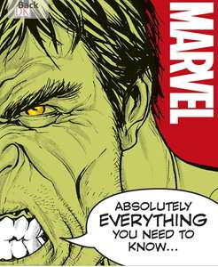 Marvel Absolutely Everything You Need To Know Now £5.99 prime / £8.98 non prime @ Amazon