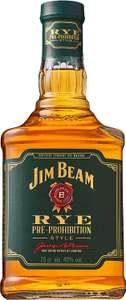 Jim Beam Pre-Prohibition Style Kentucky Straight Rye Whiskey, 70cl £20 @ Amazon (Maker's Mark 70cl & JB Double Oak 70cl Same Price)