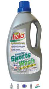 Halo Sports Laundry Liquid 1L (25 Washes) £4 - Sainsbury's