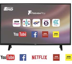 "Logik L55UE18 55"" 4K UHD Smart TV *back in stock* 60Hz (same panel as Toshiba) 34 Units! £289 Currys"