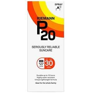 Riemann P20 Sun Filter Spray SPF30 200ml at Weldricks for £13.99 C&C