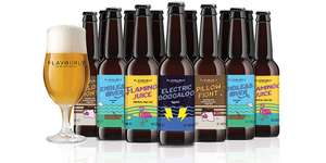 Flavourly Beers 20 for £19 delivered includes two glasses