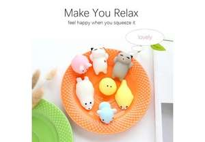 Cute mini squishy stress relief toy- almost free with code (just pay postage) 39p @ Zapals