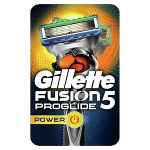 Better than 1/2 price on selected Gillette Mens Razors including Powerglide for £7.49 @Superdrug