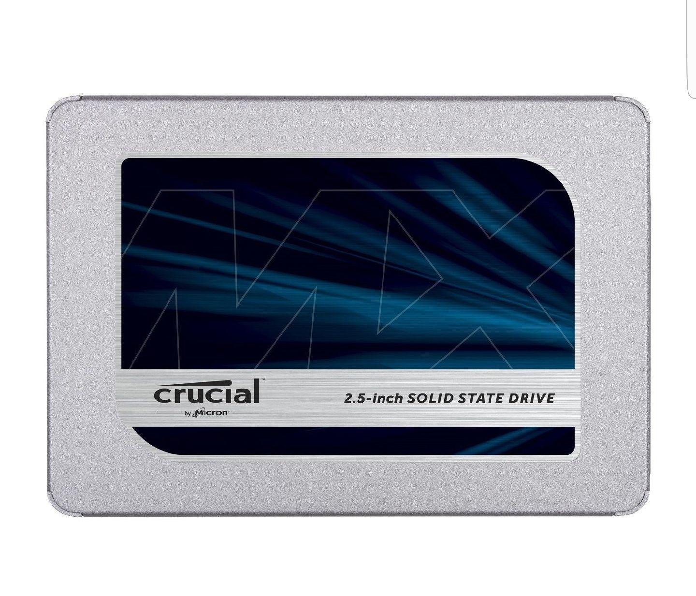 Crucial MX500 1TB SSD £196.50 - crucial.com