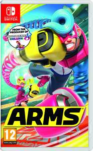 Arms  (Nintendo Switch) - £26.99 - Amazon Prime Now (£3.99 delivery)