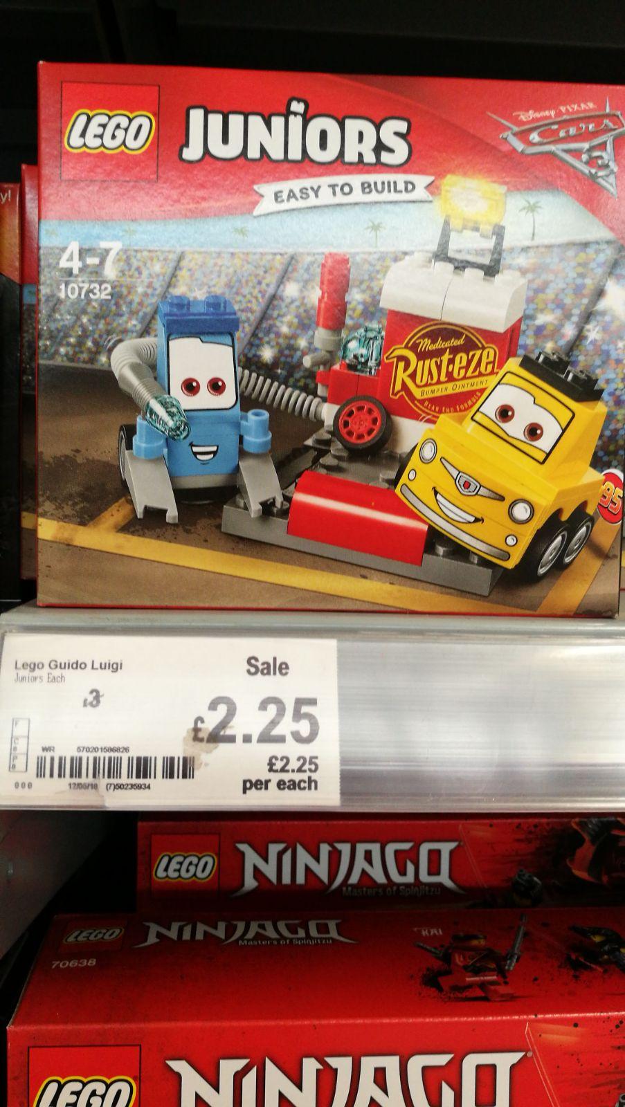 Lego Juniors Disney Cars set - £2.25 instore @ ASDA