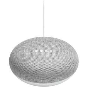 Google Home Mini (Black or Grey)  + Google Chromecast BOTH for £49 delivered OR TWO Google Home Mini + Chromecast for £78 OR 2 Minis + 2 Chromecast £88 @ Tesco Direct