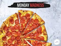 Monday Madness - Large pizza £9.99 @ Pizza hut