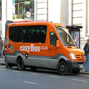 Airport Transfers for £1.99pp - London Victoria to Gatwick /Luton Airport - Kings Cross to Stansted  @ easyBus
