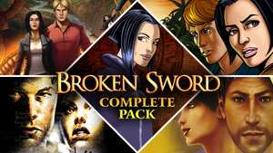 Broken Sword Complete Pack £4.27 with code @ Fanatical