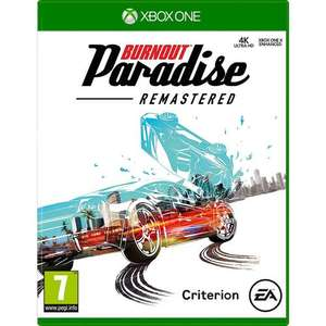 Burnout Paradise Remastered (Xbox One) - £19.90 Delivered @ MyMemory