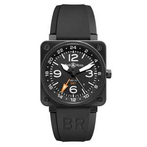 Bell & Ross BR01-93 GMT (352) £1800 @ amjwatches instore