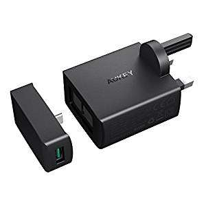 Aukey USB C Wall Charger with Power Delivery 29W 1 USB C Port or Dual USB Ports - £9.99 (Prime) £13.98 (Non Prime) @ Sold by AUKEY direct and Fulfilled by Amazon