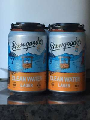 Brewgooder Lager (brewdog) 12x cans for £5 instore @ Co-Op