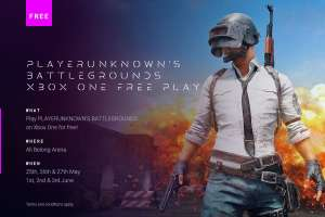 PlayerUnknowns Battleground Free Play Days - 25-27 May, 1-3 June