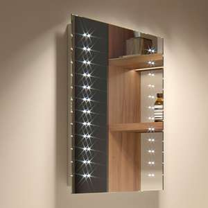 390 x 500 mm Modern Slim Illuminated Battery LED Bathroom Mirror MC145 was £71.99 now £59.99 Sold by iBathUK and Fulfilled by Amazon