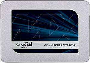 Crucial MX500 CT1000MX500SSD1(Z) 1 TB Internal SSD (3D NAND, SATA, 2.5 Inch)  £189.99 @ Amazon