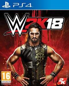 WWE 2K18 PS4 pre-owned £13.35 @ MusicMagpie