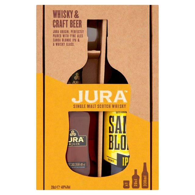 Jura Origin 10yo 20cl, 330ml Craft Beer & Whisky Glass Gift Pack - £6 @ Morrisons