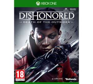Dishonored: Death Of The Outsider Xbox One/ps4 @ Argos - free c & c