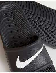 Nike Kawa Swoosh Sliders Sandals In Black @ ASOS - £12.00 plus £3.00 del