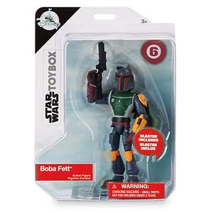 Disney Toy Box actions figures half price £5 + £3.95 delivery at Disney Store