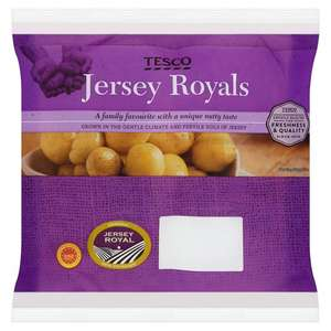 Baby Jersey Royal Potatoes 450g for 49p @ Tesco (from 16/05)