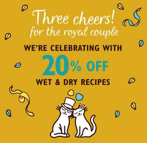 20% off Wet & Dry pet Food with Code @ Lily's Kitchen