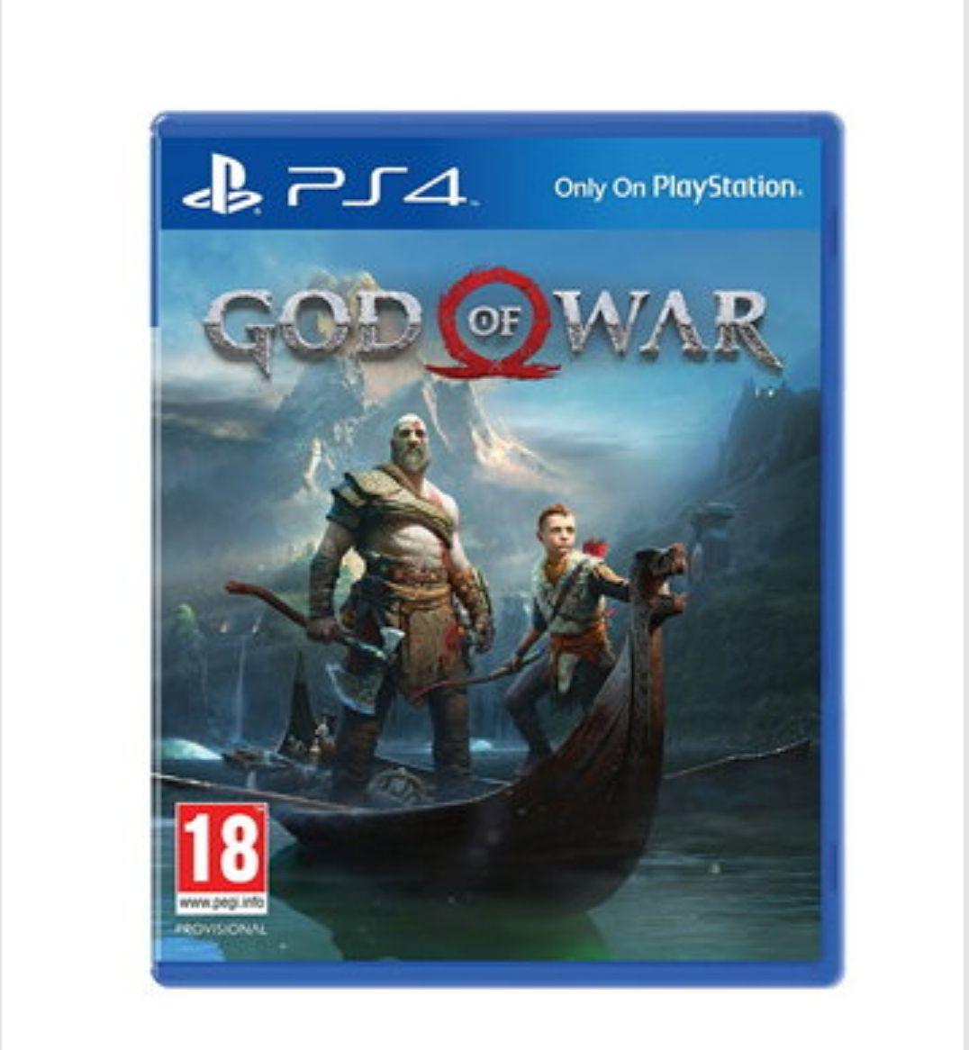 God of War £41.85 PS4 @ base.com