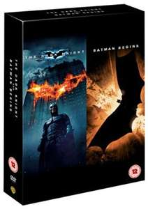 Batman Begins / The Dark Knight DVD £1.19 FREE DELIVERY @ Music Magpie (Used)