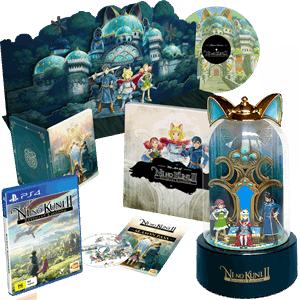 Ni No Kuni II: Revenant Kingdom: King's Edition + Special Swords Set DLC (PS4/PC) £78.85 Delivered @ Base