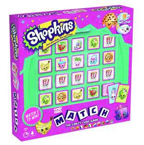 Top Trumps Shopkins Match Cube Game £7.19 prime / £11.68 non prime - sold by Amazon
